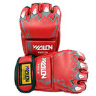 Sparring Grappling Boxing Fight Punch Mitts Leather Gloves +Buckle