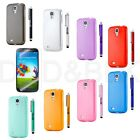 FOR Samsung Galaxy S4 Ultra Thin Transparent Clear Hard TPU Case Cover SIV i9500
