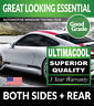 BMW 650i 4DR GRAN COUPE 13-16 PRECUT WINDOW TINT - 99% UV + SUPERIOR QUALITY