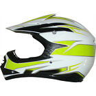 LEO-X16 Kids Child Off Road MX Helmet Motocross Motorbike Neon Yellow/White
