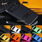 For Samsung Galaxy S3 i9300 Slim Flip Battery Cover Case View Window Pu Leather
