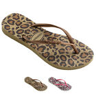 Unisex Kids Havaianas Slim Animals Casual Beach Jelly Holiday Flip Flops UK 8-4