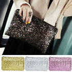 Attractive Sequins Dazzling Glitter Bling Evening Clutch Party Bag Handbag HFUS