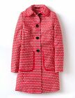 Boden Women's Brand New Holland Park Coat Pink & Ivory Spot