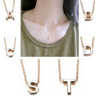 Hot Women Gift 26 English Letter A To Z Pendant chain New Style Necklace Simple