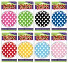 "POLKA DOTS 18"" Round FOIL BALLOONS {Unique} (Birthday/Party/Decoration)"
