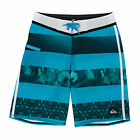 Quiksilver Brigg Youth  Boys  Board Shorts - Ag47 Brigg Hawaiian Ocean