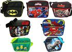 OFFICIAL SUPERHERO MESSENGER BAG LAPTOP SHOULDER SCHOOL BACKPACK GIFT BOYS XMAS