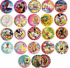 10 PAPER PLATES (23cm) LICENSED CHARACTER DESIGNS Range (Birthday Party){Set5}