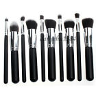 1set/ 10Pcs New Professional Cosmetic Makeup Brush Set Powder Eyeshadow Brushes