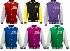 Justin Bieber Fans American College Baseball Style Varsity Jacket