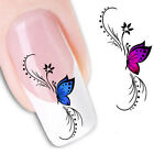 Popular Butterfly 3D Style Nail Art Sticker Manicure Nail Polish Decals Tip 0151