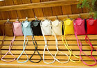Womens Small Mobile Phone Bags Coin Satchel Shoulder Messenger Bag Weave CA HF3