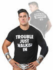 TNA IMPACT WRESTLING EC3 ECIII Trouble Just Walked In Parental Advisory T-SHIRT