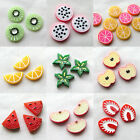20pcs New Fruit Resin Flatbacks Craft Scrapbooking Hairclips Lots Mix B0402