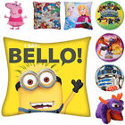 Childrens Kids Boys Girls Game Film TV Book Accessory Filled Character Cushion