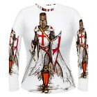 Knight Templar Battle Sublimated Women's Long Sleeve T-Shirt S,M,L,XL,2XL,3XL