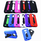 Kickstand Hard Cover Soft Case For Samsung Galaxy S4 4 IV I9500