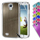 New Hard Case Cover For SAMSUNG GALAXY S4 i9500  Free Screen Protector & Stylus