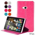 New Slim Flip Wallet Leather Phone Pouch Case Cover for Nokia Lumia 535