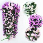 1 Bunches of Artifical Lily Bracketplant Hanging Garland Vine Flower Traling