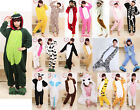 Unisex Adult Onesies Pajamas Kigurumi Cosplay Costume Animal Onesie Sleepwear