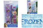 DISNEY FROZEN OFFICIAL STATIONERY RUBBERS ERASERS SET ELSA ANNA OLAF SVEN SCHOOL