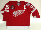 STEVE YZERMAN 1998 STANLEY CUP CCM VINTAGE RED DETROIT RED WINGS JERSEY NEW