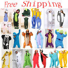 NEW Unisex Adult Onesie Kigurumi Pajamas Anime Cosplay Costume Dress Sleepwear
