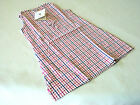 Bellora Italy Red & Blue Waffle Checked Child Sleeveless Nightgown 2 4 6 8 Years