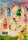 Simplicity 2559 SEWING PATTERN 1/2-4 Baby Toddler Disney Fairies Costume Tink!