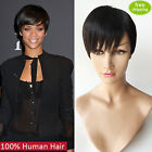 100% remy human hair full lace wigs/lace front wig Short Cut Bob Style Fashion