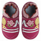 Momo Baby Girls Soft Sole Leather Shoes - Candy Pocket
