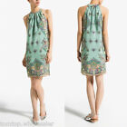 NEW Women's Lady Summer Boho Halter Floral off Shoulder Sleeveless Party Dress