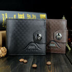 1PC Business Style Genuine Leather High Quality Purses Men Card Holder Cheap