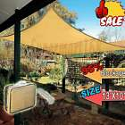13' 15' 20' Outdoor Patio Square  Sun Sail Shade Cover Awning Canopy Top Shelter