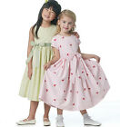 Sew & Make Butterick B5590 SEWING PATTERN - Girls EASTER SPRING PARTY DRESSES