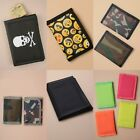 NEON COLOURED TRI-FOLD WALLET, PURSE, UNISEX, GIFT, PRESENT, STOCKING FILLER
