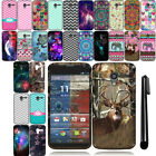 For Motorola Moto X Phone XT1058 Cute Design TPU SILICONE Rubber Case Cover +Pen