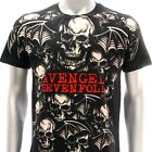 Sz S M L XL XXL 2XL Avenged Sevenfold A7X T-shirt  All Excess Black Many Size