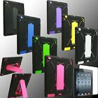 Case for Apple iPAD 2 3 4 New Cover KCEK Stand PC Silicone Screen Protector QW