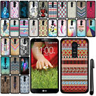 For LG Optimus G2 D800 D801 D802 LS980 SLIM FIT HARD Case Back Cover + Pen