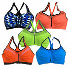 Victoria's Secret Vsx Front Close Knockout Sports Bra Zipper Wireless New V371