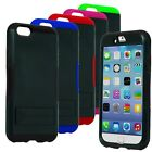For LG Optimus SERIES INFUSE PRIME HYBRID TPU Hard Stand Case Cover Colors