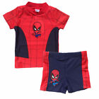 Boy Kid Swimsuit Sunsuit Rashguards UV Protective Spiderman Sun block Sunscreen