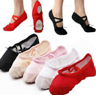 Wow Snap! Lady Girls Ballet Dance Shoes Fitness Gymnastics Shoes Canvas BDAU