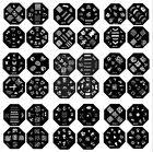HF 20 Designs Nail Art Image Stamp Stamping Plates Manicure Template For DIY US1