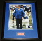 Don Shula Signed Framed 11x14 Photo Display Baltimore Colts Dolphins