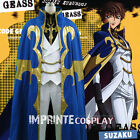 Code Geass Suzaku Kururugi Knight of the Round Cosplay Costume Full Set FREE P&P
