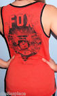New Sexy FOX RACING RIDERS Orange RIDE TO THRILL Tank Top GRAPHIC LOGO S M L XL